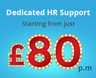 Dedicated HR Support from £80