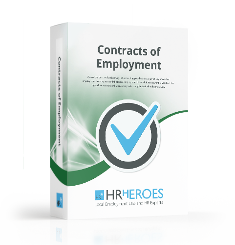 contracts of employment document package