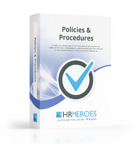 policies and procedures document package